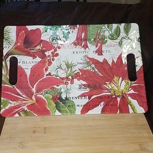 Michel Design Works Floral Serving Tray Handles